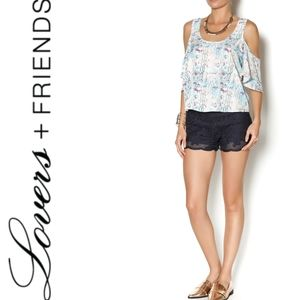 New With Tags Lovers + Friends First Date Top